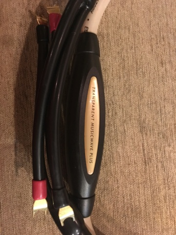Transparent Musicwave Plus MM2 speakers cable (Used) 14851810