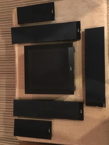 KEF T205 home theatre speakers 5.1. (Used) 2de28410