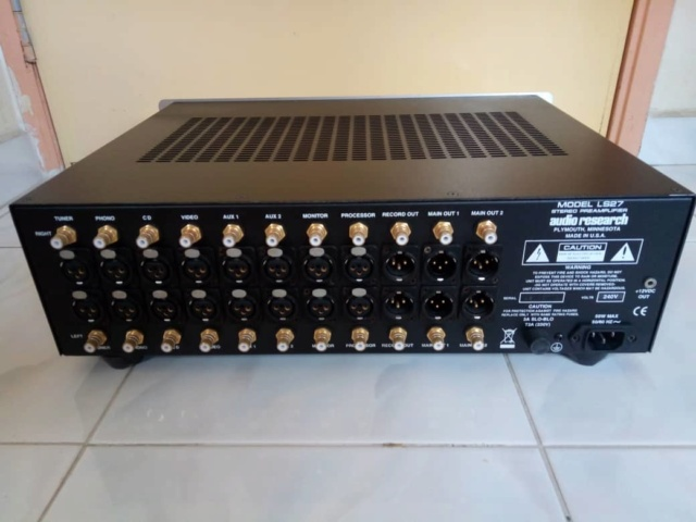 Withdrawn- Audio Research LS27 Stereo Preamplifier (Used) 35ce0e10
