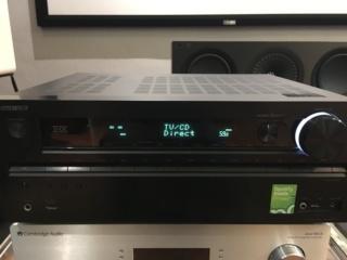 Sold - Onkyo TX-NR717 AV Receiver. (Used) 42340a10