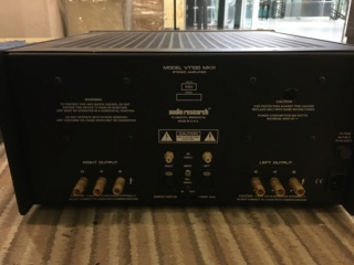 Audio Research VT100 mk3 power amplifier (Used) 4383cf10