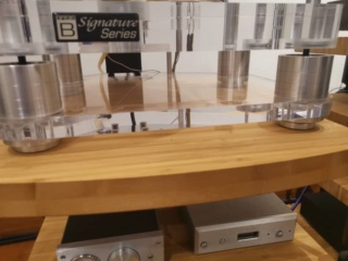 Basis Audio 2800 signature Diamond Signature Vacuum Turntable in Clear Acrylic (Used) 527e9210