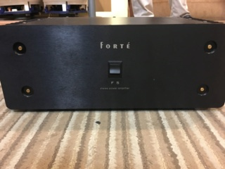 Forte F5 stereo power amplifier (Used) 5303aa10