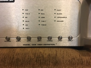 Audio Research CD6 CD player  (Used) 74f4e510