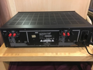 AMC 2445 2/4 channel power amplifier (Used) A98b0710