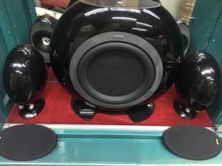 KEF HTS3001SE satellite 5.1 speakers (Used) B408b610