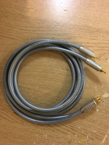 Sold - Audio Note ISIS Reference copper litz interconnect RCA cable. (Used) B6dc0f10