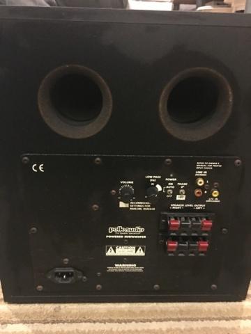 Polk Audio PSW250 Subwoofer (Used) D0c14910