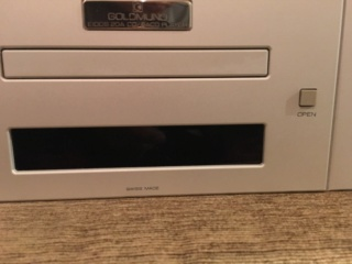 Goldmund EIDOS-20A sacd player (Used) D72a5a10