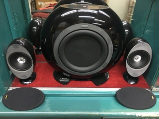 KEF HTS3001SE satellite 5.1 speakers (Used) E75be110