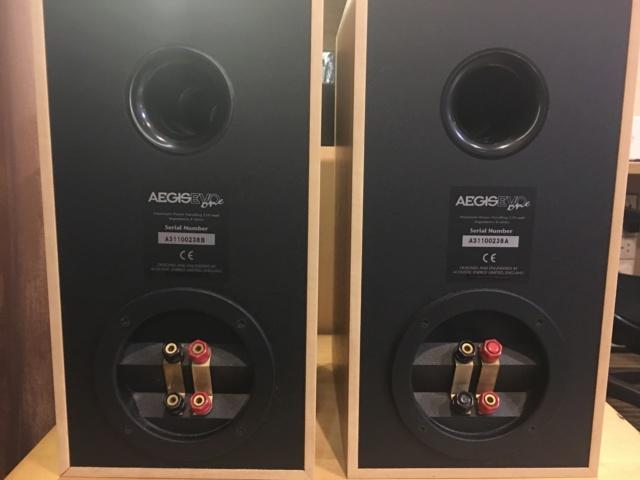Sold - Acoustic Energy AEGIS EVO One bookshelf speaker (Used) Fbe60b10
