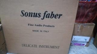 Sonus Faber Guarneri Evolution speaker including stands Kbdb5910