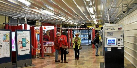 Gare de Brest. La fin du chantier reportée à début août  Un-tun10