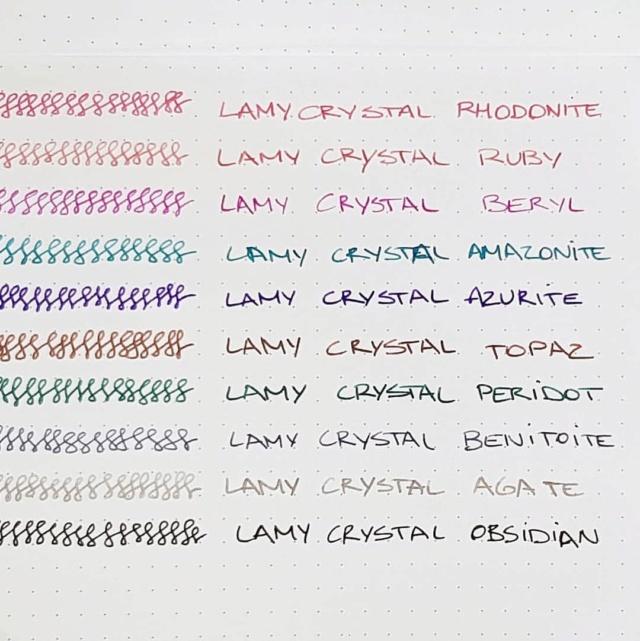New Lamy Crystal Inks 1a67a910