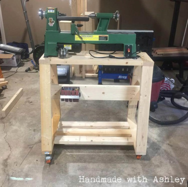 New Bench for My Atlas 10D Lathe 3746f610