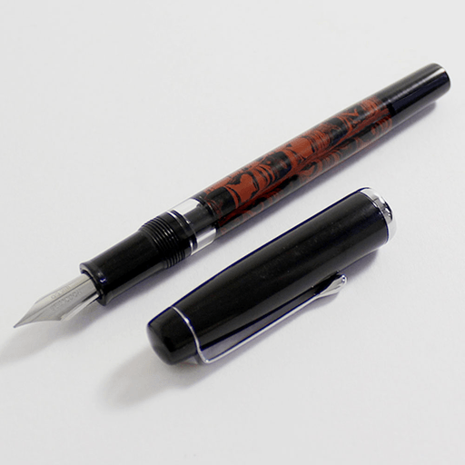 Noodlers Ebonite and Whaleman's Sepia 446e7310
