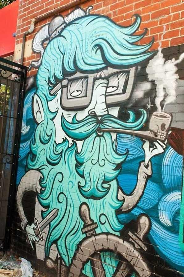 Great Public Art & Graffiti  - (post photos) 5824cf10