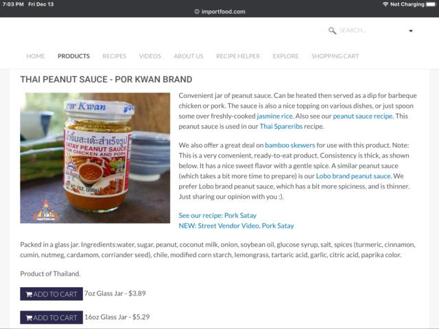 Rice & Peanut Sauce 81ff4410