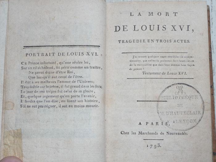 A vendre: livres sur Marie-Antoinette, ses proches et la Révolution - Page 6 49075410