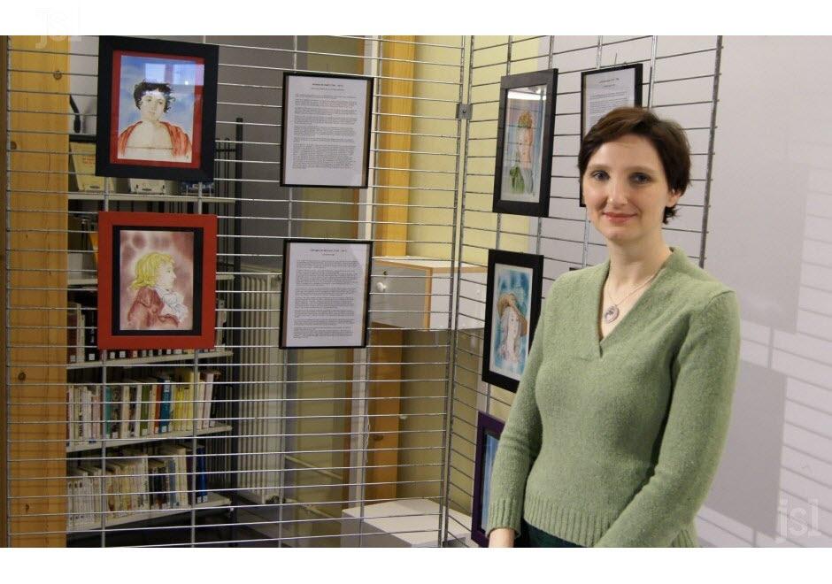 Exposition d'aquarelles sur les femmes de la Révolution Emilie10