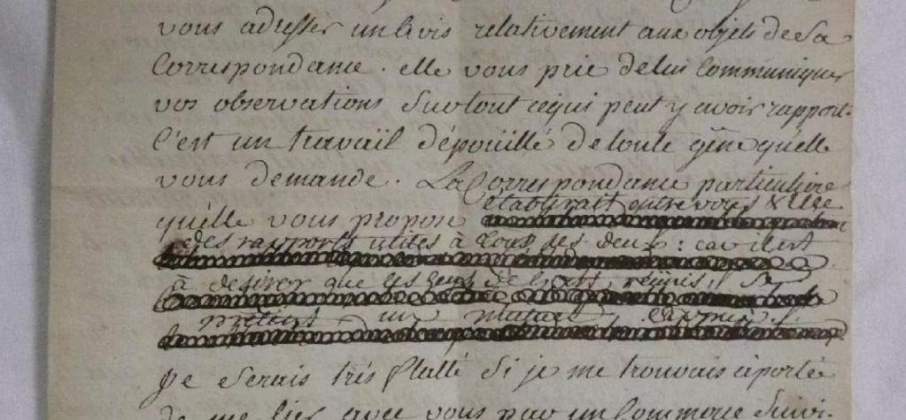 Ecrit et croquis du Médecin Vicq d'Azir Tzolzo12