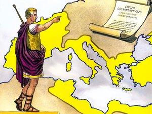 R1- L'empire romain de 146 av J-C à 476 ap J-C (occident) et 1453 (orient) 001-gn11