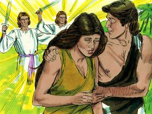 La première prophétie de la Bible 012-ad10