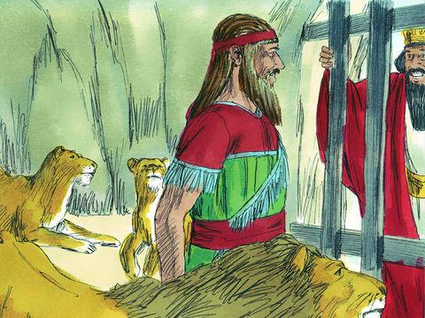 P2- Daniel et la fosse aux lions 12-dan10