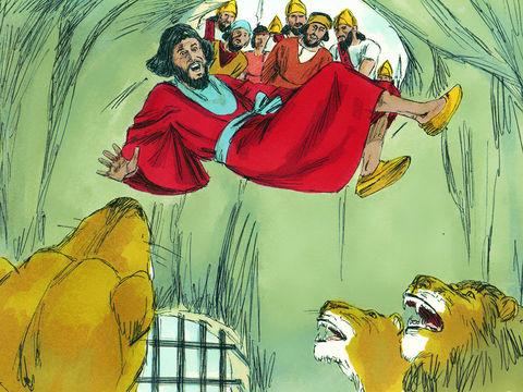 P2- Daniel et la fosse aux lions 13-dan10