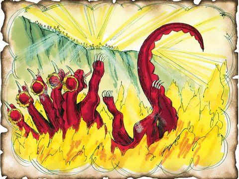Le lac ou l'étang de feu et de soufre 16-red10