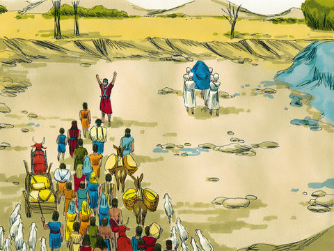 Apocalypse 8 : 10 : Les fleuves et les sources d'eau 4-josu12