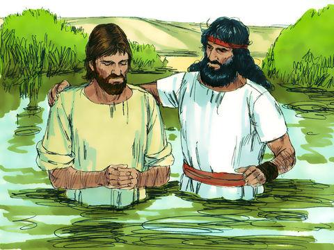 Apocalypse 8 : 10 : Les fleuves et les sources d'eau 8-bapt10