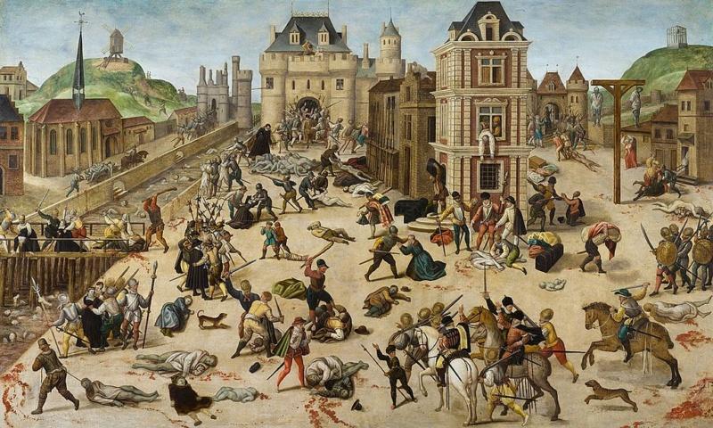 Apocalypse 17 : 6 : Elle est ivre du sang des saints Massac10