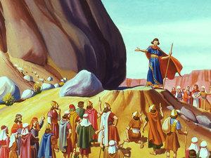 Apocalypse 8 : 10 : Les fleuves et les sources d'eau Moise210