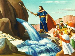 Apocalypse 8 : 10 : Les fleuves et les sources d'eau Moise310