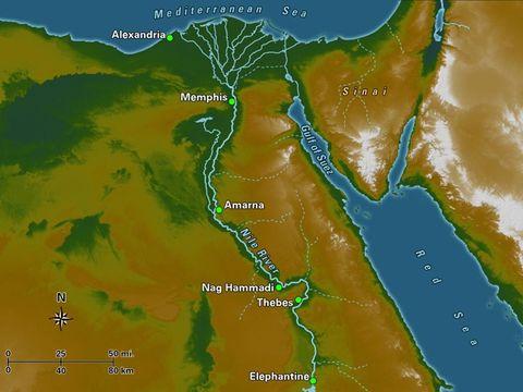 Apocalypse 8 : 10 : Les fleuves et les sources d'eau Nil-eg10