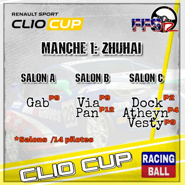 CLIO CUP 2018 by Racing Ball Picsar24