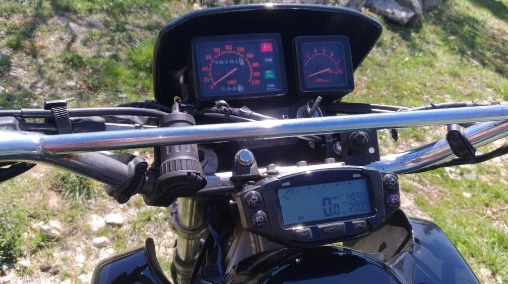 Trailtech Vapor : températures & régime moteur ? Xlv410