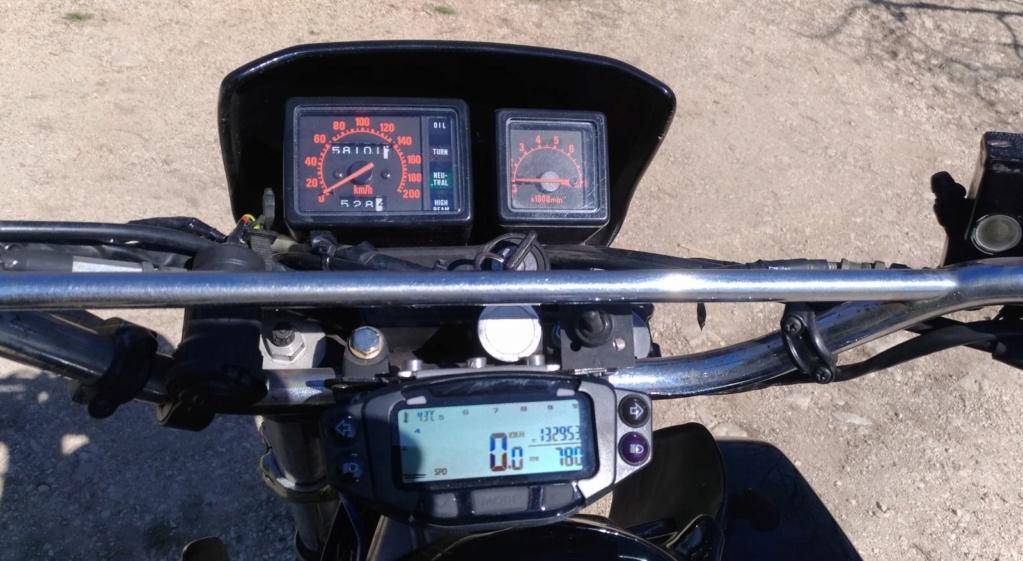 Trailtech Vapor : températures & régime moteur ? Xlv710