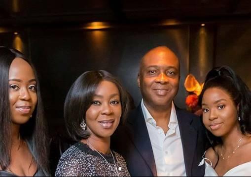 Lovely Family Photos Of Senate President Bukola Saraki, His Wife, And Their Daughters 1-13210