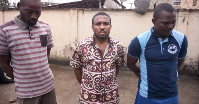 Sacked Soldier, Two Others Apprehended For Hijacking Fuel Tanker (Photo) Soldie10