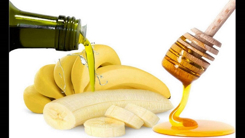 Maschera Capelli Banana, Miele e Olio di Oliva Yuk-bi10