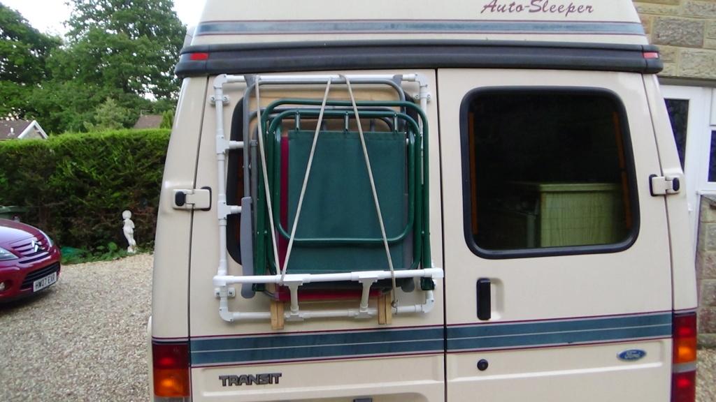 95 Transit AS Duetto DIY rear chair rack  Dsc02914