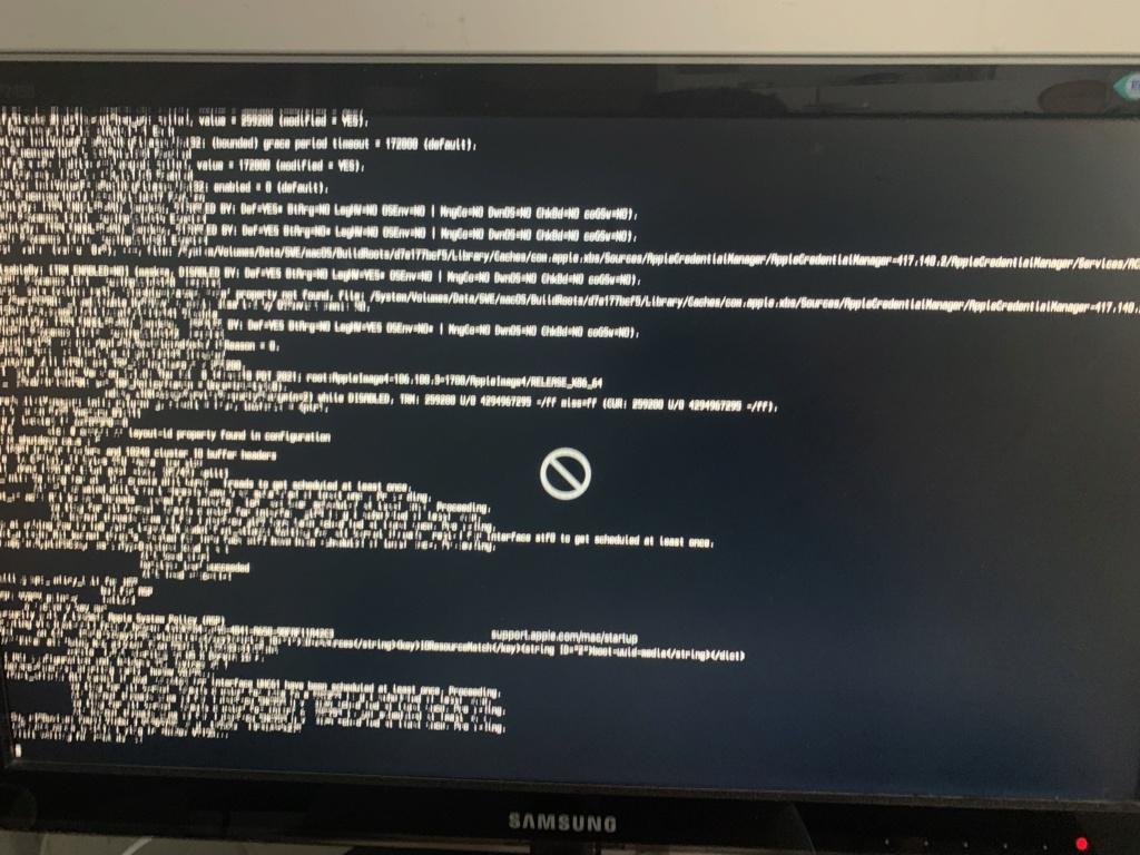 [RESOLU] Blocage aléatoire au boot sous macOS 11.5.1 7e252c11