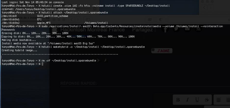 [Résolu] Kernel panic /12 min restantes à l'installation de Big Sur (legacy ou UEFI) - Page 3 Captur13