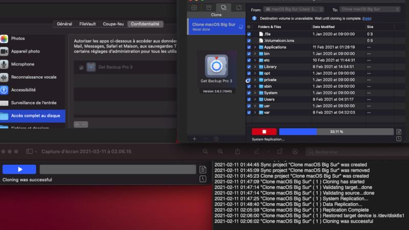 Effectuer un BackUp de macOS Big Sur 11 Captur43