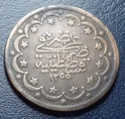 Turkey 20 kurush año 1255/14. B022c810