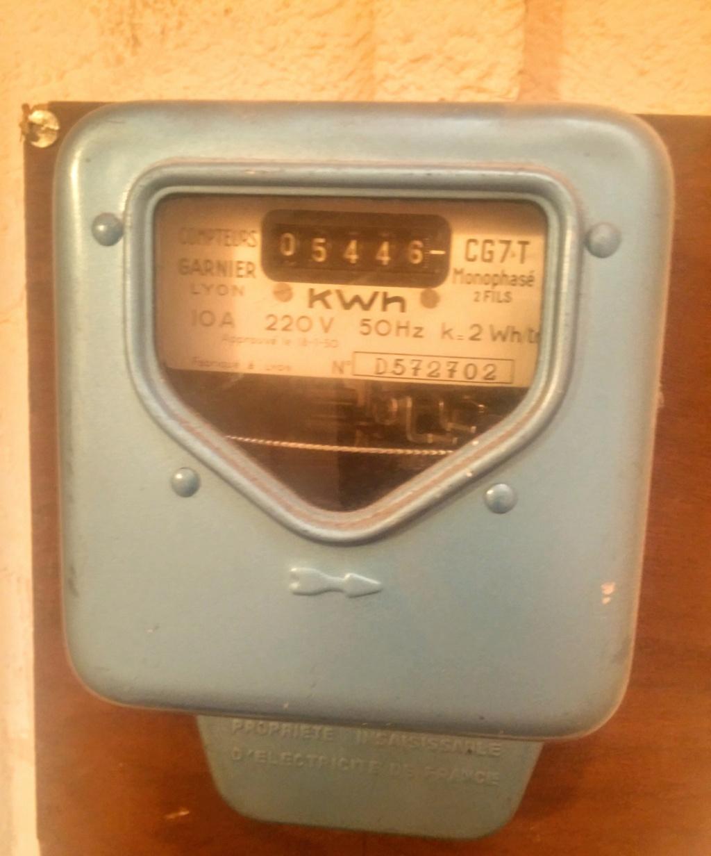 Connaitre puissance ancien compteur électromagnétique 20181110