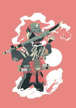 Usuarios como personajes animados Samura10