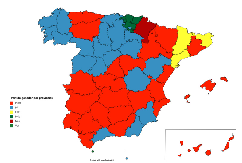 [La Provincia] Nueva Encuesta: El PSOE gana, el PP sube y Ciudadanos se desploma Encues11